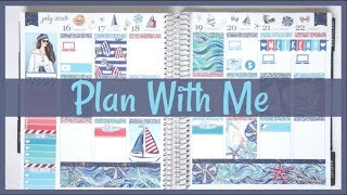 Plan With Me! Waves printable | BeaYOUtiful Planning