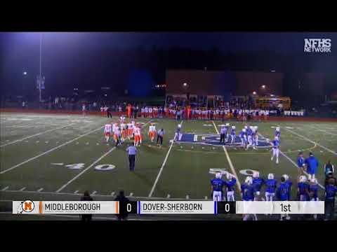 MIAA Playoff Football: Middleborough at Dover-Sherborn - October 27, 2017