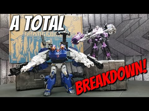 Transformers Prime War Breakdown and Jet Vehicon In-Hand Review and Images by Mr Stan Show