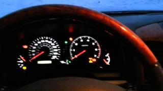 Lexus GX470 запуск двигателя в мороз