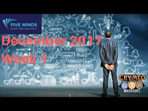 Five Winds Asset Management Earnings December 2017 Week 1 - Good News!