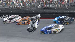 Extended Cut: iRacing RADIOACTIVE from Bristol Motor Speedway   NASCAR RACE HUB