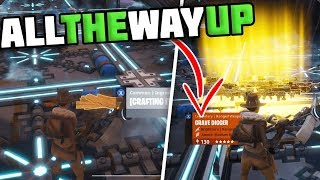 Trading From A Stack Of Planks For 2 GOD ROLL GUNS! All The All WAY UP [3] - Fortnite Save The World