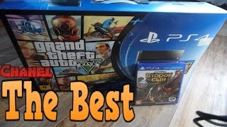 Обзор PlayStation 4 от канала TheBest : Распаковка PS4 и GTA5,Infamous: Second Son (Unboxing PS4)