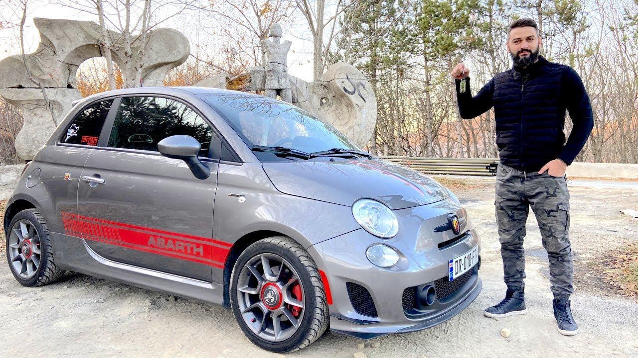 უხეში ტესტ დრაივი - Fiat 500 Abarth - Powered by Ferrari !