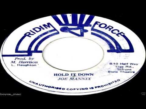 Joe Mannix - Hold It Down (Ridim Force)