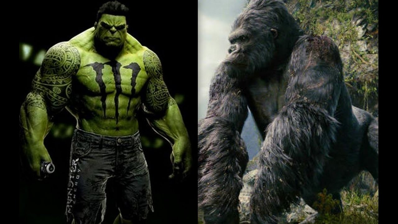 King Kong Vs Hulk Movie The Hulk VS Kin...