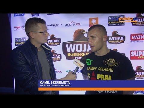 Kamil Szeremeta po wygranej z Howardem Cospolite