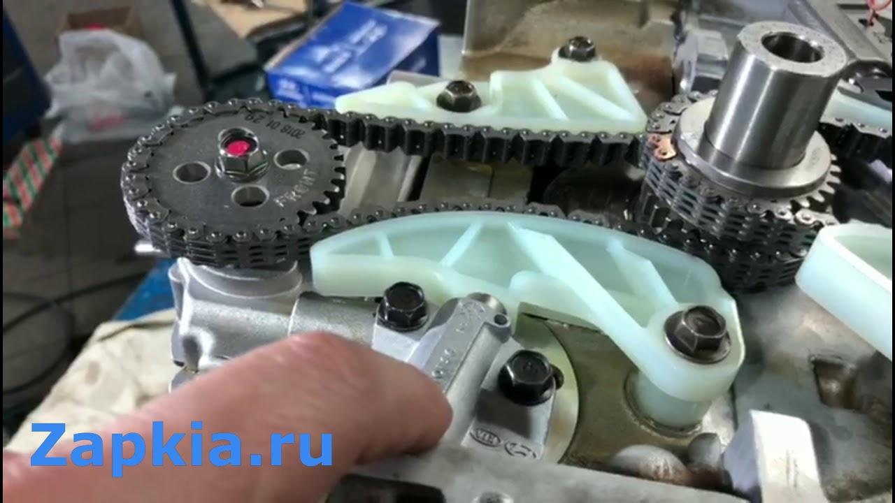 Эксперимент двигатель G4KD 2 0 и G4KE 2 4 | Скрещивание
