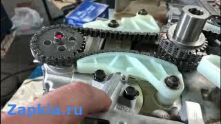 Эксперимент двигатель G4KD 2.0 и G4KE 2.4 | Скрещивание