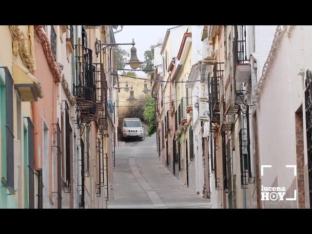 VÍDEO: Obras que acaban en calles de nuestros barrios: Hoy se presentaron los trabajos realizados en la calle Olmedo y La Barrera.