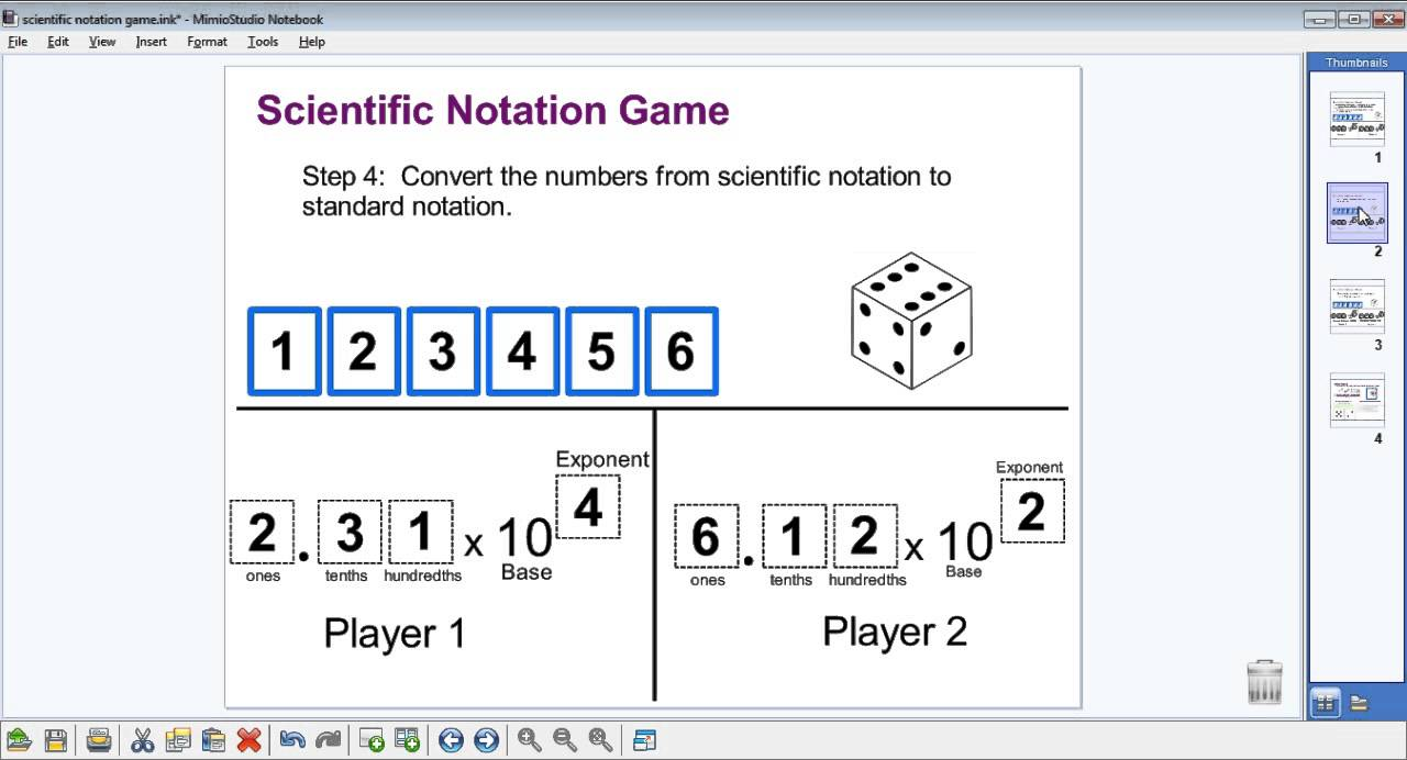 how to solve scientific notation