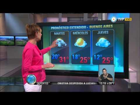 Visión 7 - Pronóstico extendido para Buenos Aires