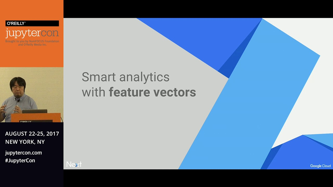 Image from Cloud Datalab: Jupyter with the power of BigQuery and TensorFlow-Kazunori Sato (Google)