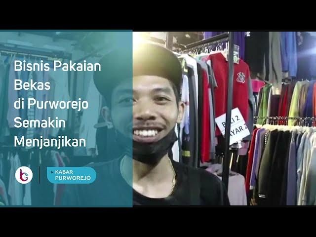Bisnis Pakaian Bekas di Purworejo Semakin Menjanjikan