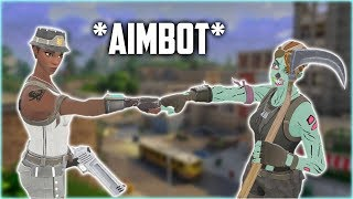 THEY THOUGHT WE HAD AIMBOT IN DUOS on Fortnite Battle Royale