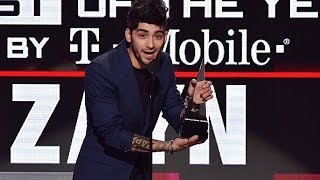 Zayn Malik wins New Artist of the Year at the AMA's 2016