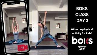At Home BOKS Class - Yoga With Tara Stiles