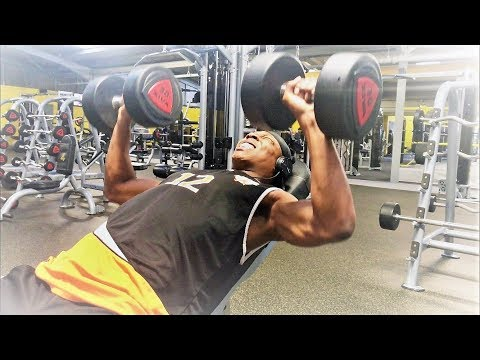 CHEST DAY HIGHLIGHTS W/ MORGAN