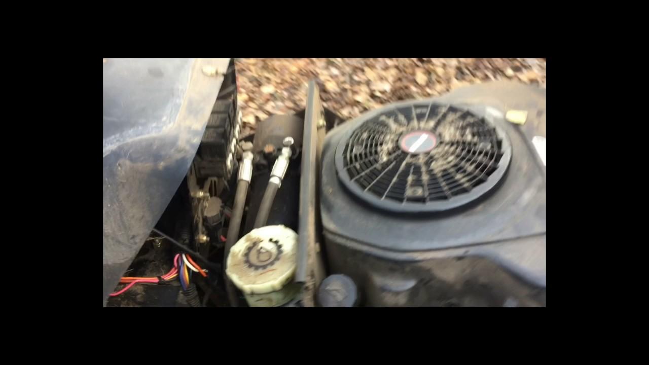 toro wheelhorse 270h no start troubleshooting  fixed!
