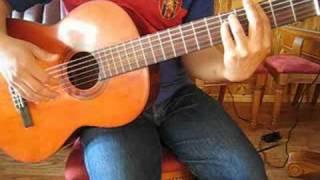 Bai Tap 4 Guitar  - Em Hien Nhu Masoeur - Pham Duy