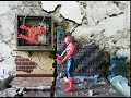 Spider-Man 4: Stop Motion - Peter backflip