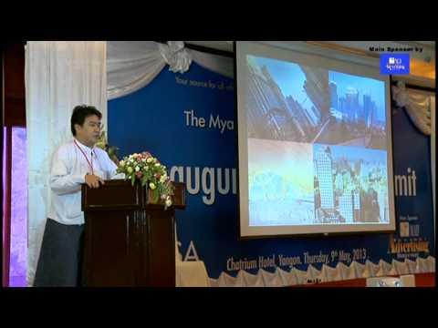 Myanmar Developing Role in Asia by U Moe Kyaw