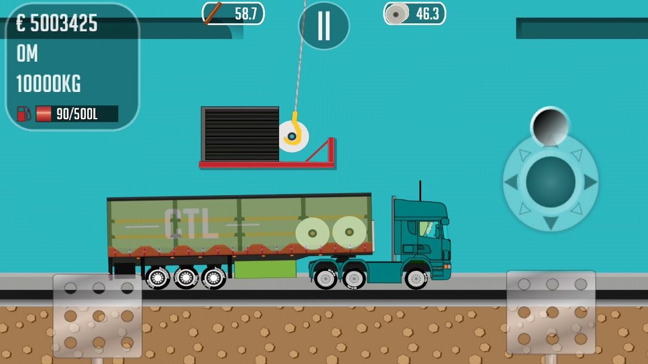Trucker Joe - Paper roll loading - YouTube