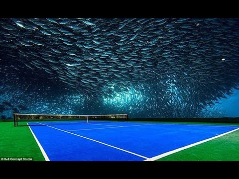 Dubai To Have The Worlds First Underwater Tennis Court
