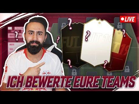 FIFA 19: ICH BEWERTE EURE TEAMS!  🔥 BISSCHEN REALTALK? thumbnail