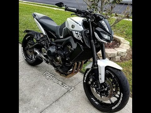 2017 Fz09 Mt09 Custom R6realtor License Plate Mod