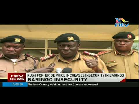 Alarm raised as rush for bride price increases insecurity in Baringo