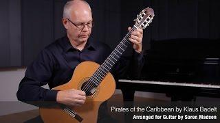 Pirates of the Caribbean (Klaus Badelt) - Danish Guitar Performance - Soren Madsen
