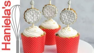New Year's Eve Ball Drop Cupcakes, Cookie Pop Tutorial