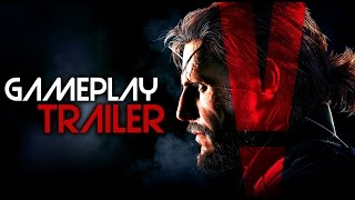 Metal Gear Solid V - @Gamescom 2015 In Germany - Gameplay/Footage Trailer (HD)