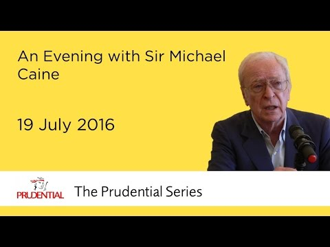 An evening with Sir Michael Caine