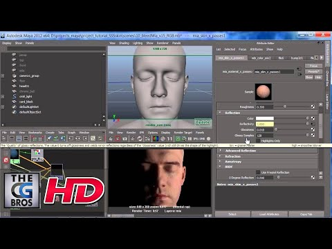 "CGI Tutorial : ""Rendering With Maya and Mental Ray: SSS Part 2""  by - Jon Tojek"