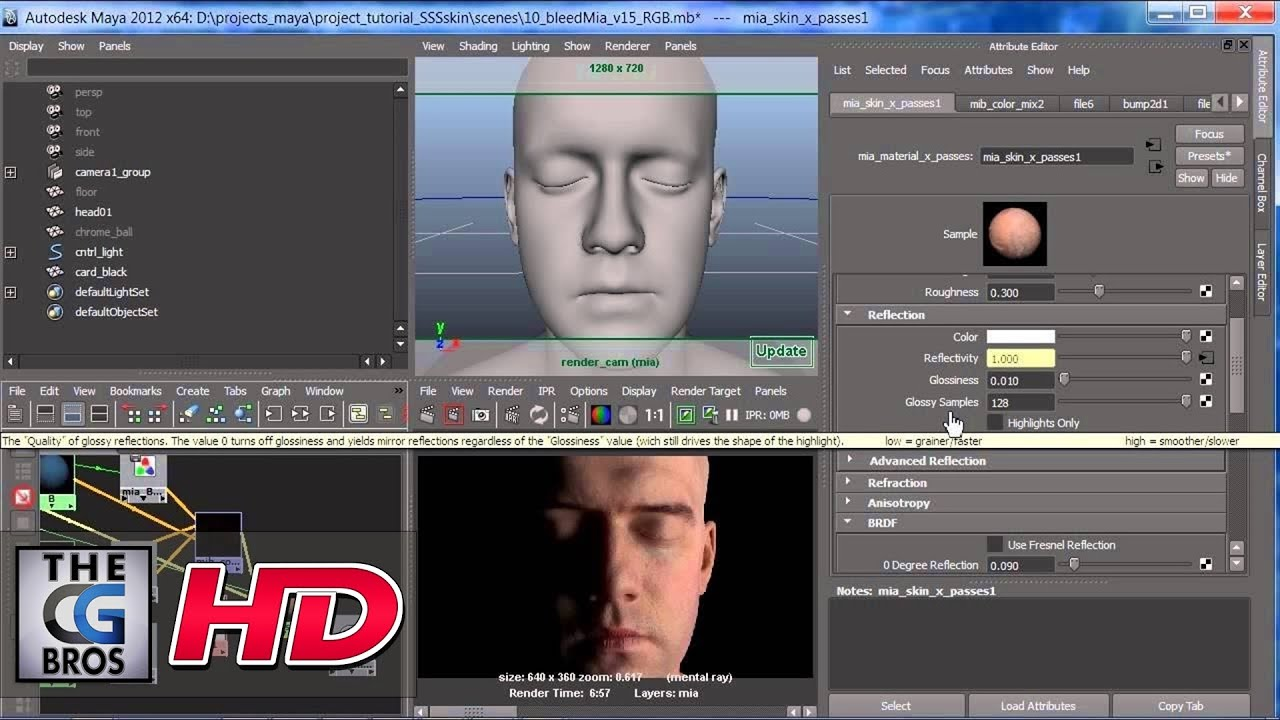 Mental ray for maya subsurface scattering candle wax for 3d candle.