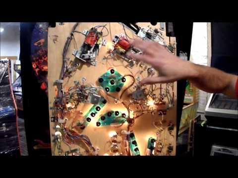 hurricane pinball machine for sale