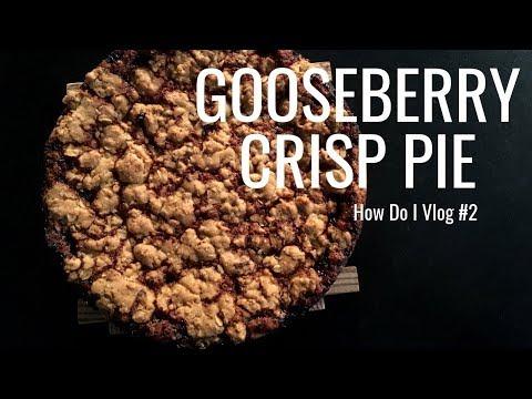 How Do I Vlog 2 - Gooseberry Crisp Pie