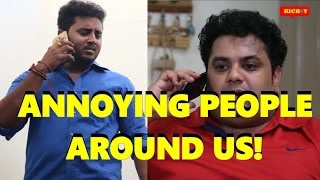 APOLLO - ANNOYING PEOPLE AROUND US- COMEDY SKETCH BY KICHDY