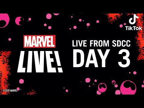 Marvel LIVE From SDCC 2019!   Day 3