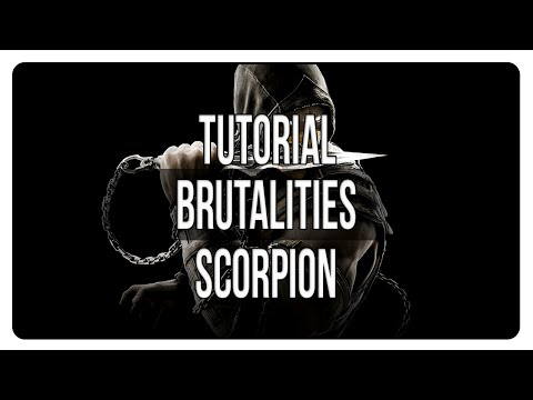 MKX | Brutalities de Scorpion | Tutorial [Español]