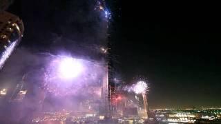 New year eve fireworks Dubai 2012