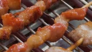 전기 바베큐 그릴 살라만다 생선 굽는 구이 기계 고기