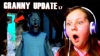 GRANNY FROZEN ROOM!! Ruby Rube Plays New Update 1.7