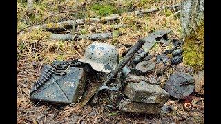 Коп по войне - Танковый подрыв (часть 1) / Searching with Metal Detector