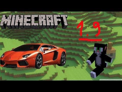 Minecraft: cách tạo xe hơi đi được by command block 1.9 ( No mod)