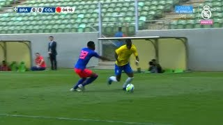Vinicius Jr vs Colombia U-20 | Every Touch | 15/11/2018