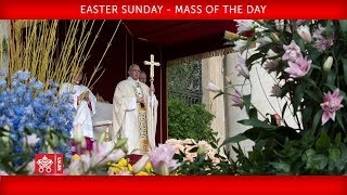 Pope Francis - Easter Sunday - Mass of the day 2018-04-01